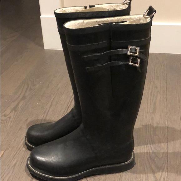 Ilse Jacobsen hornbaek rain boots - black